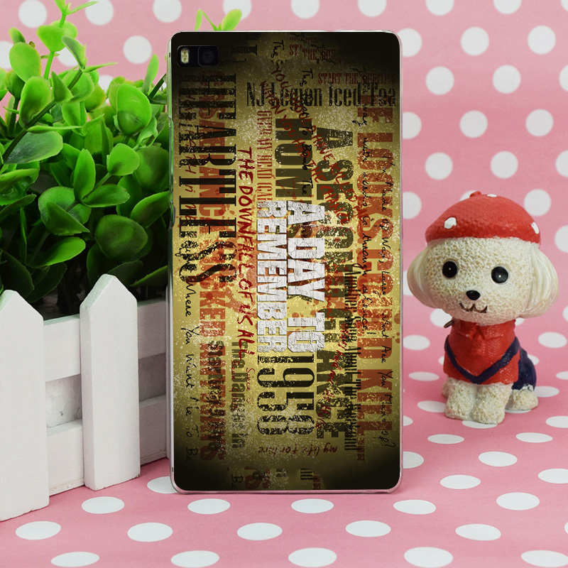 B0087 Agents De Shield Top Vente Day Transparent Hard Thin Case Skin Cover For Huawei P 6 7 8 9 Lite Plus Honor 6 7 4C 4X G7(China (Mainland))