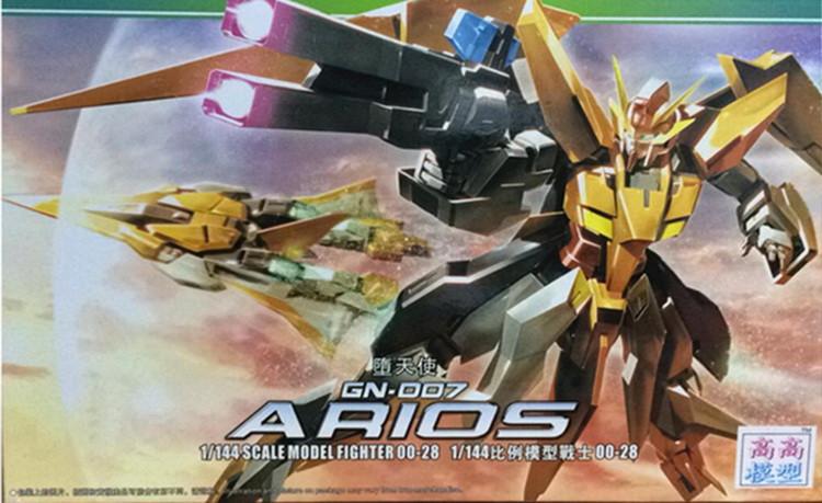 New 1:144 Arios Gundam Model MG Manual Assembly