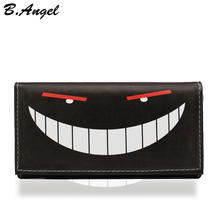 Halloween wallet High quality wallet women Creative wallets funny men wallets special leather wallet fashion purse 5 types(China (Mainland))