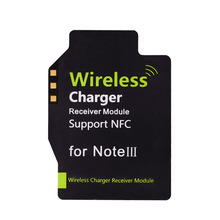 Qi New Standard Wireless Charging Receiver Supporter NFC for Samsung Galaxy Note III 3 N9000 N9005 Wireless Charger(China (Mainland))