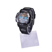 ALIKE A95 Sports 50m Water Resistant Quartz Digital Wrist Watch Black Grey