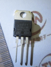 10pcs,LM317T LM317 1.5A Adj Voltage Reg IC,TO-220(China (Mainland))
