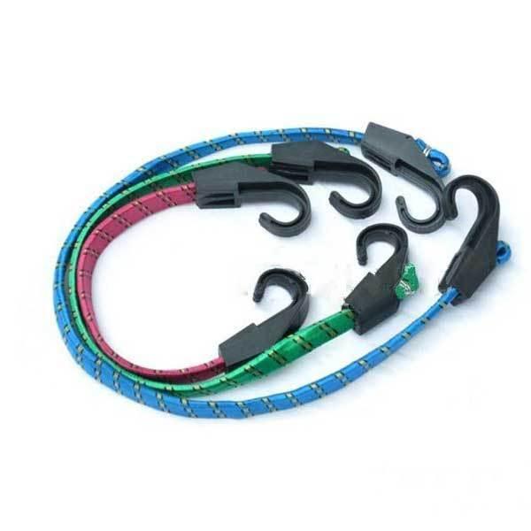 TrustMart 3 x Cycling Bicycle Bike Hook Elastic Rope Luggage Strap 28 45 62cm(China (Mainland))