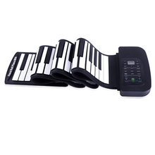 V.TOP MT005 88 Keys Flexiable Silicon Roll up MIDI Piano with Speaker Keyboards Instrument(China (Mainland))