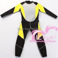 3MM Child 100% Neoprene wetsuit UV protect wetsuit child Jellyfish protect Neoprene wetsuit surf(China (Mainland))