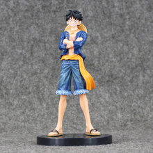 Buy 17cm Anime One Piece New World Monkey D Luffy Assembling PVC Action Figure Collectible Model Toys Doll for $8.69 in AliExpress store