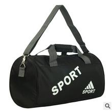 Много — функциональный цилиндрический спорт мешок портативная водонепроницаемый женщины мужчины путешествие duffles мешок на открытом воздухе фитнес пакет