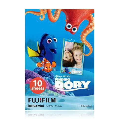 Fujifilm Instax Mini Film Finding Dory For Fuji Instant Cameras Free Shipping 2016 Summer Big Movie(Hong Kong)