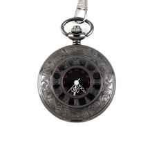 Hot Worldwide Steampunk Retro Vintage Mechanical Vintage Unisex Roman Number Quartz Steampunk Pocket Watch