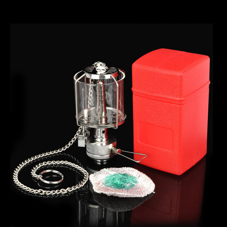 Outdoor vapor lamp Coverglass BL300-F1 outdoor Mini Electronic ignition camping Gas lamps(China (Mainland))