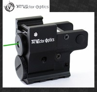 Vector Optics Twilight Compact Pistol Handgun Green Laser Sight with Wire Cable Switch fit 20mm Rails for Glock 17