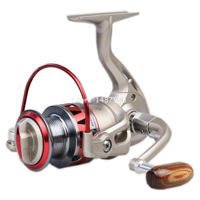 Germany Technology Abu Daiwa Pesca Golden Reel Spinning Fishing Reel Fixed Spool Reel Coil Fish Fishing 10BB L102<br><br>Aliexpress