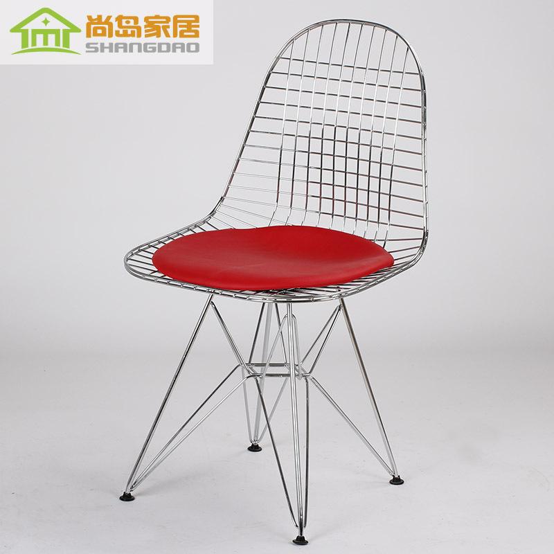 Online kaufen gro handel draht outdoor st hle aus china for Draht stuhl design