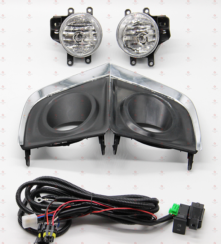 Toyota Corolla/Altis 2014 2015 auto accessories foglights fog lamp front driving lamps+wiring kit(China (Mainland))