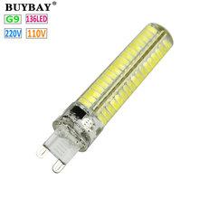 Buy New arrival Dimmable G9 LED Bulb SMD 5730 mini G9 LED lamp 110V/220V 136LEDs Chandelier lampada Replace Halogen light bomblias for $19.03 in AliExpress store