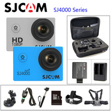 "Original SJCAM SJ4000 Series SJ4000 & SJ4000 WIFI Action Camera 1080P HD 2.0"" Waterproof Camera Sport DV Connector Set(China (Mainland))"