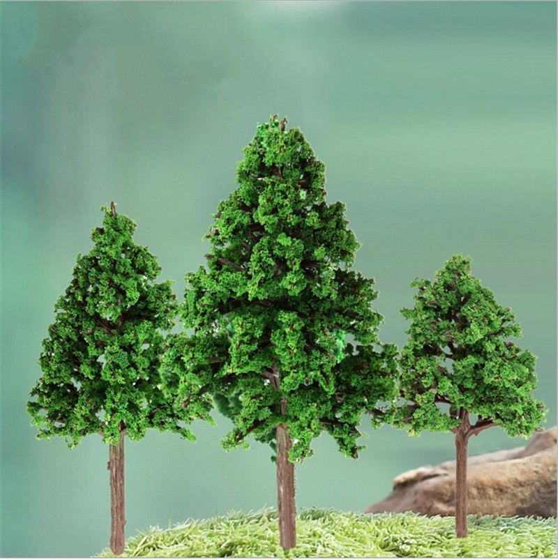 1:100-300 HO N Z Train Layout Model Trees Scale Garden War Game Diorama Scene Enhance the Appearance of your Model Landscape(China (Mainland))