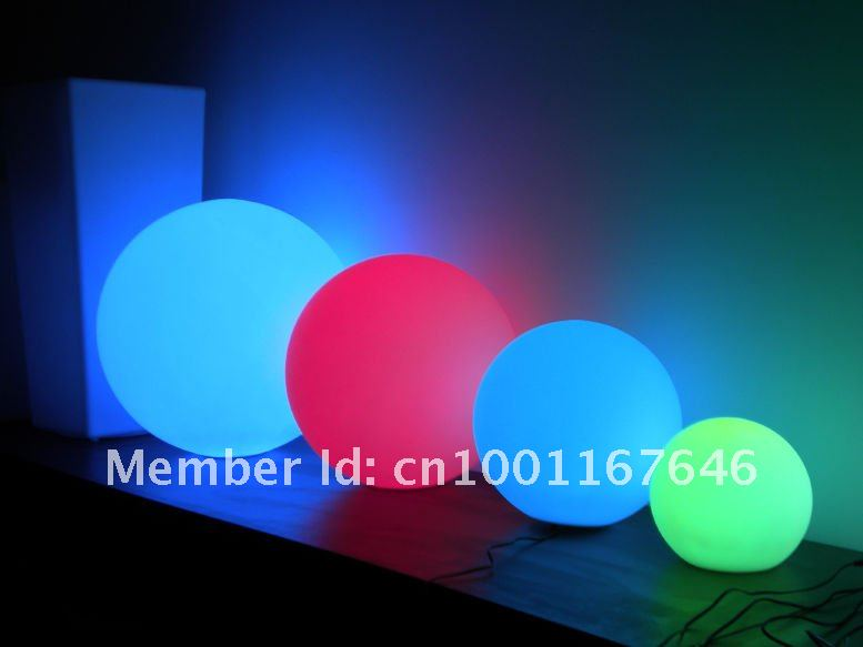 led beach ball light led pool ball led floating ball used. Black Bedroom Furniture Sets. Home Design Ideas