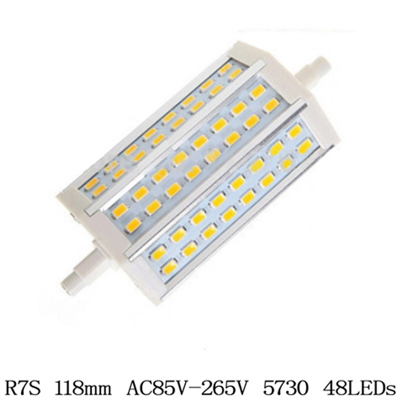 1X no Dimmable R7S LED Bulb Lamp CREE SMD5730 r7s 78mm 118mm 189mm Spot Light Replace Halogen Lamps Floodlight(China (Mainland))