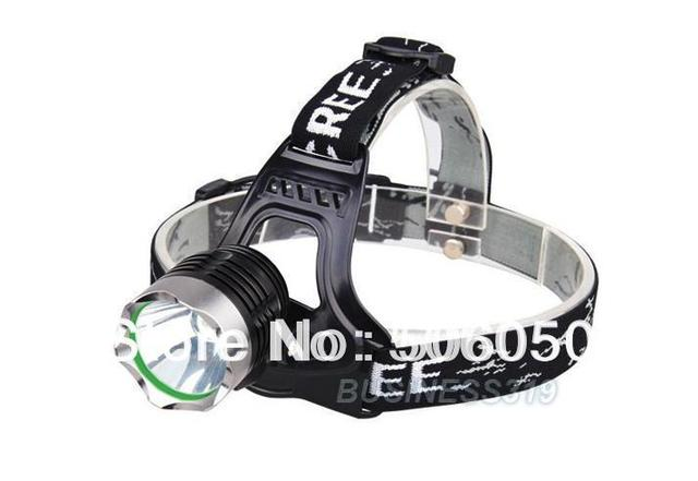 Free shipping  18650 headlamp CREE XM-L XML T6 LED Headlamp Headlight 1600 lumen Rechargeable Charger