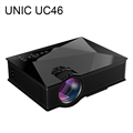 Newest UNIC UC46 LCD Mini Pico Projector Full HD 1080P Home Theater 1200Lumens 2 4G WIFI