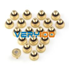 New 20pcs Brass Misting Nozzles for Cooling System with Stainless Steel Orifice 0.15/0.2/0.3/0.4/0.5//0.6/0.8mm Garden(China (Mainland))