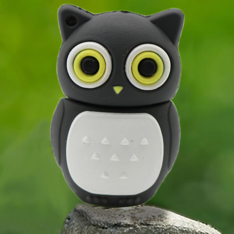 Owl Style USB Flash Drive 64GB 32GB Pen drive 16GB Cute Cartoon Pendrive 8GB 4GB USB Stick Memoria USB(China (Mainland))