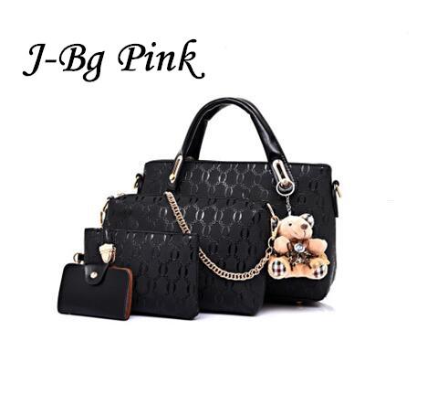 4 piece set Ms. HOT PU leather handbag bag set design women messenger bag ladies handbag+shoulder bag+handbag+clutch wallet sets<br><br>Aliexpress