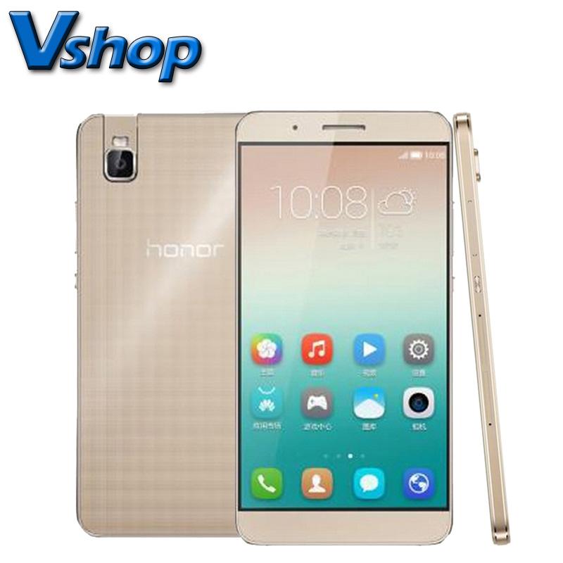 Original Huawei Honor 7i 5.2 inch MSM8939 Octa Core 3GB RAM 32GB ROM 4G LTE Unlocked Cell Phone Dual SIM 13MP Rotate Camera(China (Mainland))
