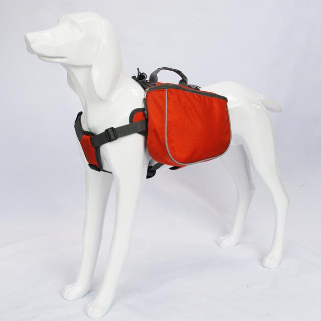 Blackdoggy Waterproof Dog Backpack Sadlebag Harness