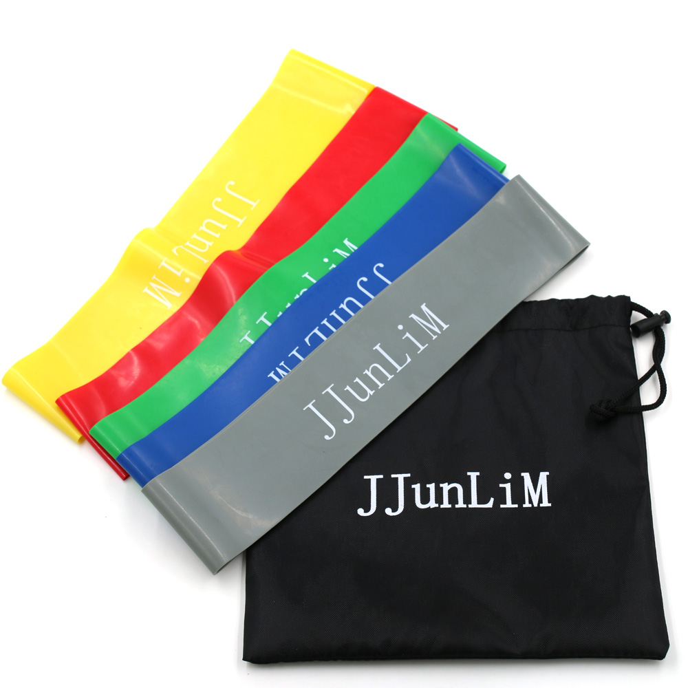 Quality Rubber Resistance Bands Set Fitness Workout
