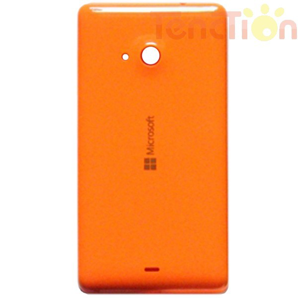 Genuine Glossy Orange Back Housing Battery Door Cover Rear Case + Side Buttons Replacement For Microsoft Lumia 535 Free Shipping(China (Mainland))