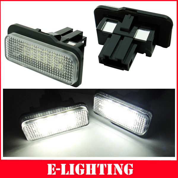 18 LED ERROR FREE LICENSE PLATE LIGHT FOR MERCEDES BENZ W219 W211 W203 WAGON(China (Mainland))