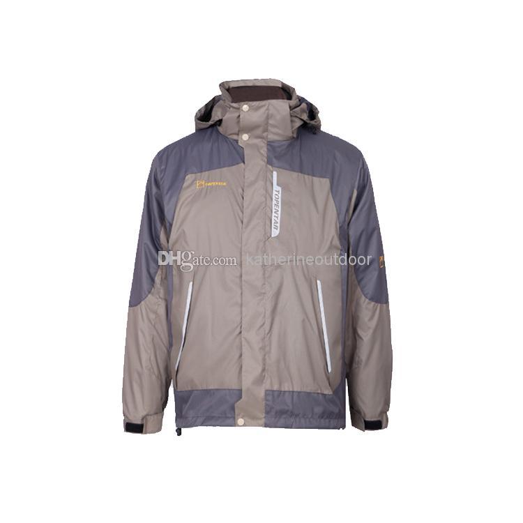 Men Waterproof Coat Buy 2014 Winter Outdoor Jacket Jackets Coats Custom Varsity Climbing Hiking Coat,(China (Mainland))