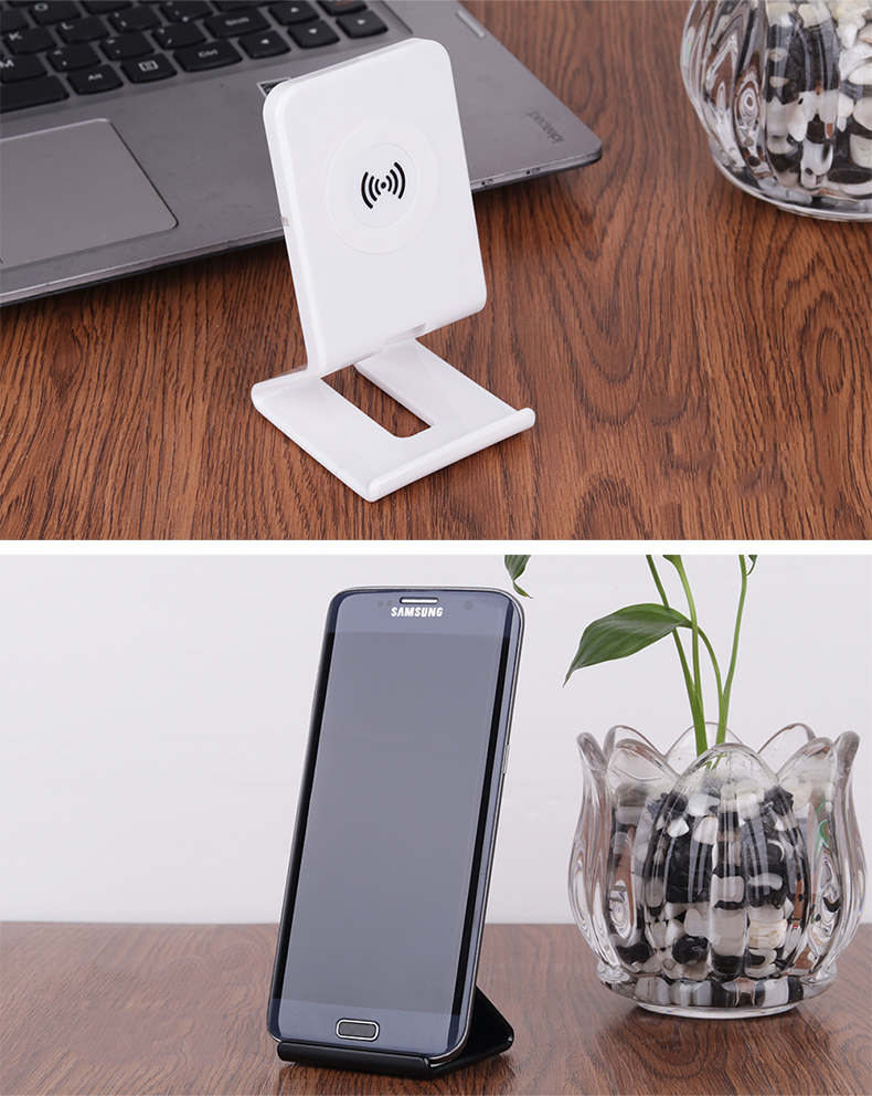 Stand Style Design QI Standard Wireless Charger For Samsung S7 Edge LG Series HTC Nokia 5V 1A Output Wireless Phone Chargers (14)