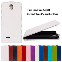 For Lenovo A850 case New arrival Up Down Flip Pattern Leather cover case For Lenovo A850 850 Flip Cover Mobile Phone Wholesale