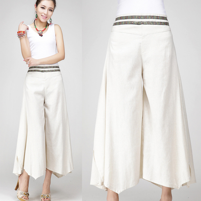 High Quality Linen Capri Trousers-Buy Cheap Linen Capri Trousers ...