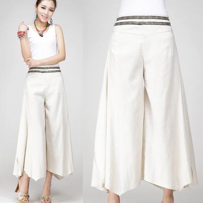High Quality Linen Capri Trousers-Buy Cheap Linen Capri Trousers ...