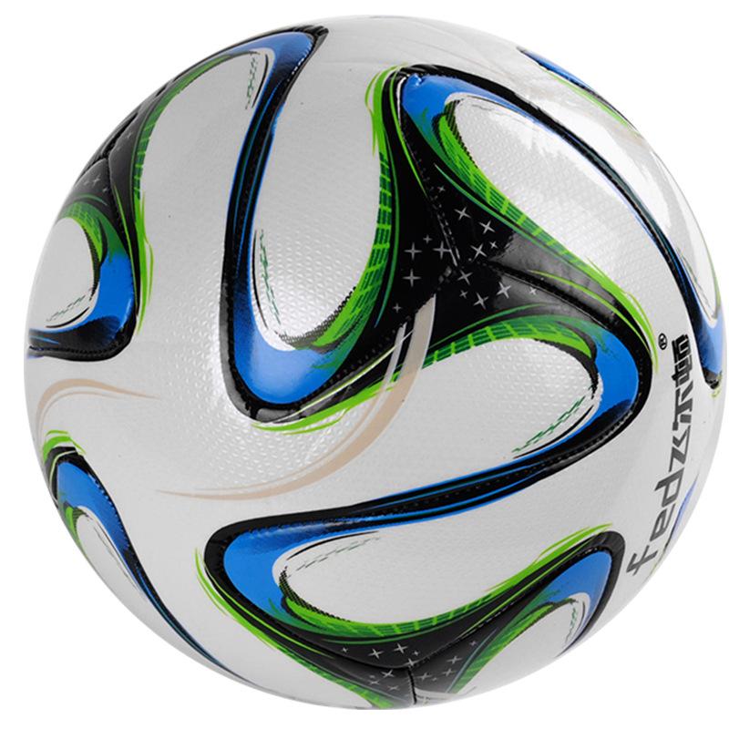 High Quality Standard Soccer Ball PU Soccer Ball Training Balls Football Official Size 5 race dedicated(China (Mainland))