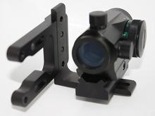 RL Archery Mini CNC Machined Bow Sight Mount Red Dot Laser Reflex Sight Scope Bracket fit Mathews Bowtech Bear all Compund Bow(China (Mainland))