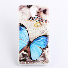 Painting Cases Lenovo A536 Case Cover Soft TPU Cute Colorful Painting Case Cover Lenovo A536 Back Case Free Shipping(China (Mainland))
