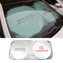 Car Windshield Sun Visor Front Window Sunshade Cover For Lexus rx330 rx350 rx300 is250 gx470 es450 lx470 is200 is250 ct200h(China (Mainland))