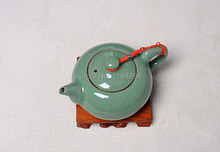 Ge Kiln Longquan Celadon Ware Beauties Teapot Cups Kungfu Tea Set 180ml