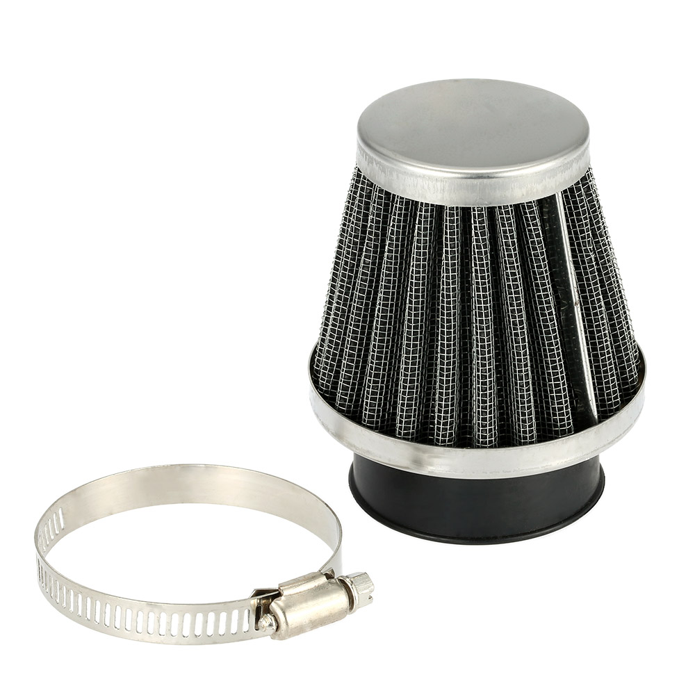 Double Layer Filter Universal Motorcycle Motorbike Replacement Clamp-on Air Filter 38mm Mushroom Head Cleaner for Scooter ATV(China (Mainland))