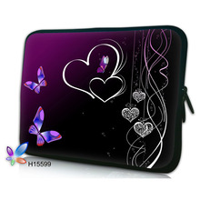 Flower laptop sleeve computer bag notebook Case women MacBook Air /Pro Retina 7.9 10 11.6 13 13.3 15.4 15.6 17.3 inch - one line more beautiful store
