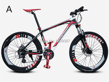 New 27/ 30 Speeds Carbon Fiber Mountain Bike Bicycle Oil Brake 50MM Lockout MTB Carbon Fiber Bicycle Carbon Fiber City Bike