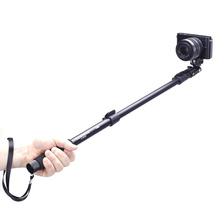 Yunteng C-188 Selfie Stick Extendable Handheld Monopod with Phone Clip for iPhone Samsung Sony Gopro 1 2 3 3+ 4 DSLR Cameras(China (Mainland))