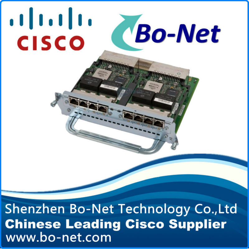 CISCO NM-8CE1T1-PRI module 8 port channelized T1/E1 and PRI NM(China (Mainland))