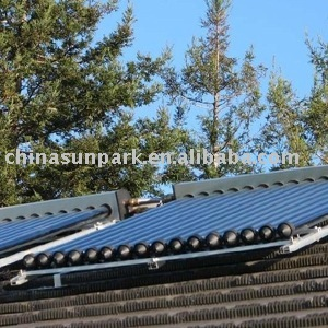 pre-heated water heater solar collector