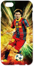 Retail Lionel Messi phone Cover For iphone 4S 5 5S SE 5C 6 6S Plus For iPod Touch 4 5 6 Back Skin Plastic Hard Cell Mobile Case